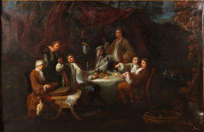 ÉCOLE FRANÇAISE VERS 1730, ENTOURAGE DE JACQUES...