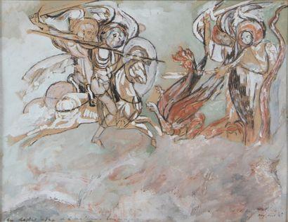 MAX JACOB (1876-1944)  Les chevaliers de...