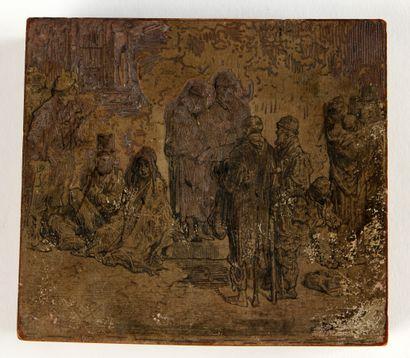 GUSTAVE DORÉ (1832-1883)  Les trois sorcières,...