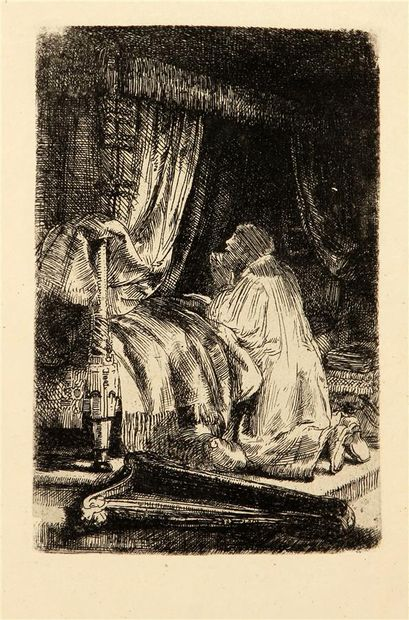 REMBRANDT VAN RIJN (1606-1669)  David en...