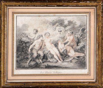 D'APRÈS CARÊME PAR LOUIS-MARIN BONNET (1736-1793)...