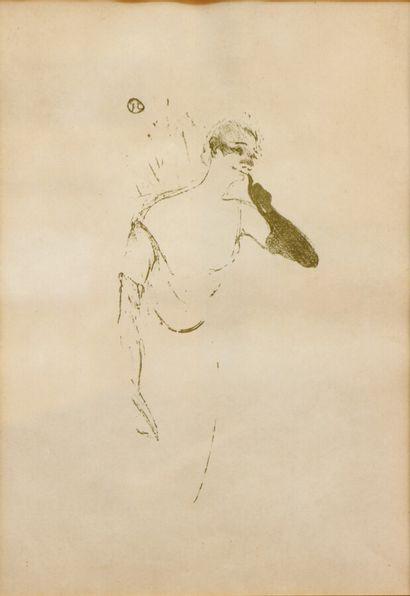 HENRI DE TOULOUSE-LAUTREC (1864-1901)  Yvette...