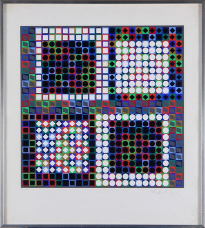 VICTOR VASARELY (1906-1997)  Composition...