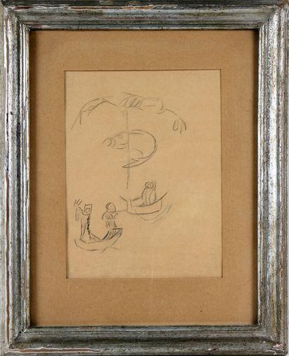 MAX JACOB (1876-1944)  La pêche miraculeuse...