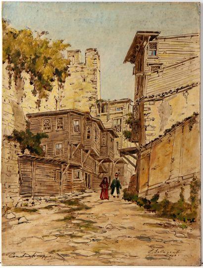 LÉONID ROMANOVITCH DIT SOLOGUB (1884-1956)...