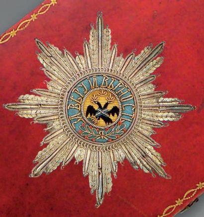 EMPIRE DE RUSSIE Exceptionnel ensemble complet de chevalier, du modèle en usage...