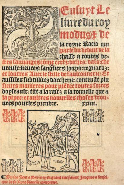 [FERRIERES (Henry de)] Sensuyt Le // liure du roy // modus & de // la royne Racio...