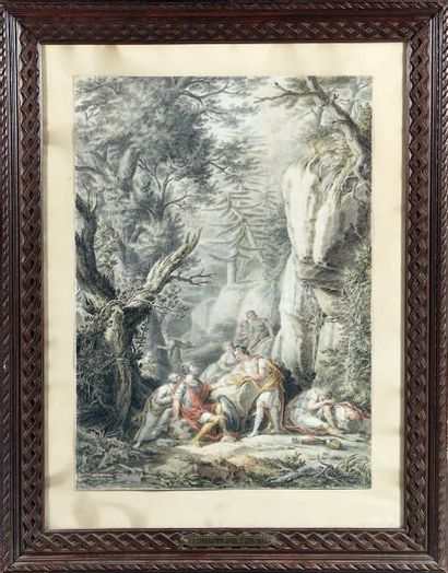 Attribué à Jean-Antoine CONSTANTIN d'AIX (Bonneveine, 1756 - Aix-en-Provence, 1844)