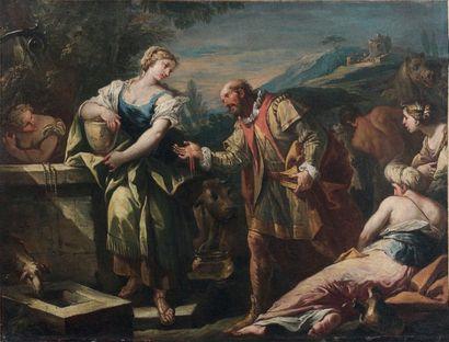 ÉCOLE VÉNITIENNE du XVIIIe siècle, entourage de Sebastiano de RICCI