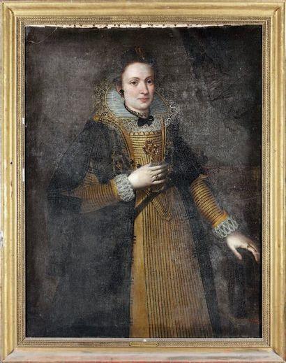ÉCOLE présumé FLAMANDE de la fin du XVIe siècle