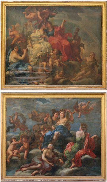 ÉCOLE ROMAINE, entourage Giuseppe CHIARI (Rome, 1654-1724)