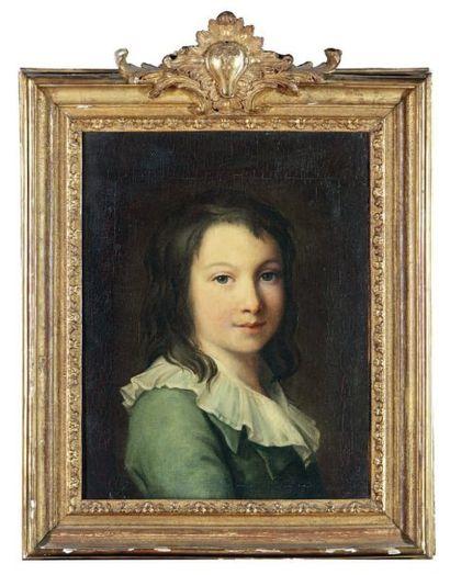 ÉCOLE FRANÇAISE du XVIIIe siècle, dans le goût de Madame VIGÉE-LEBRUN