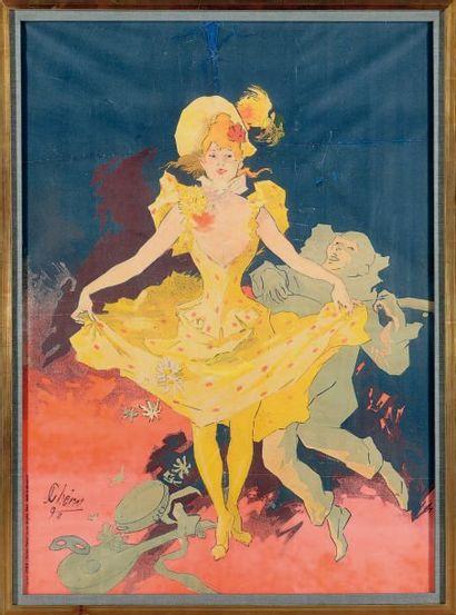 D'après Jules CHERET, imprimée par Chaix Pierrot et Colombine