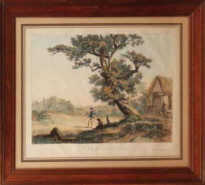 LOUIS PHILIBERT DEBUCOURT (1755-1832) Vue...