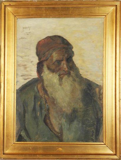 HUGO VILFRED PEDERSEN (1870-1959) Portrait...