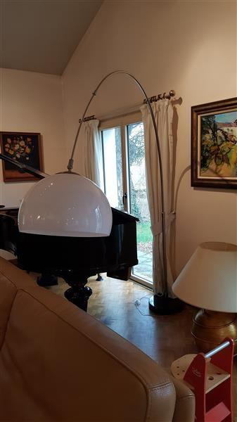 LAMPADAIRE télescopique genre Arco en métal...