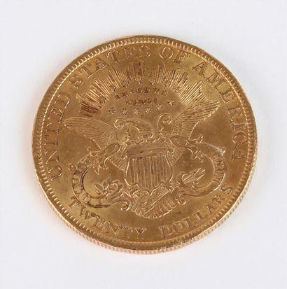 PIÈCE or de 20 dollars - 1900