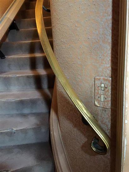 RAMPE d'escalier et GARDE CORPS de la Maison...
