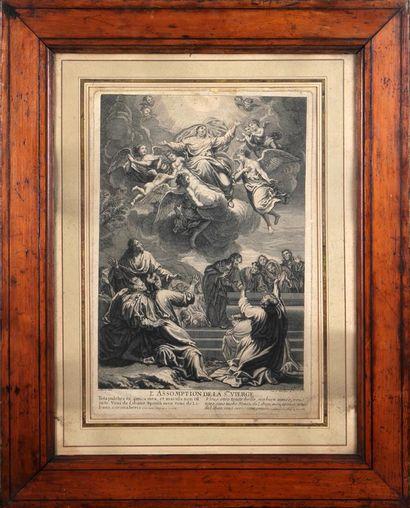 L'Assomption de la Sainte Vierge Gravure...