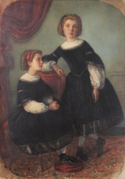 JOSEPH GABRIEL TOURNY (1817-1880) Les deux...