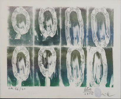 CÉSAR Cadre photographique, portrait Lithographie,...