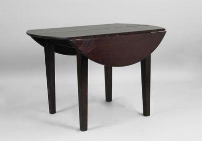 TABLE DE SALLE À MANGER à rabats en bois...