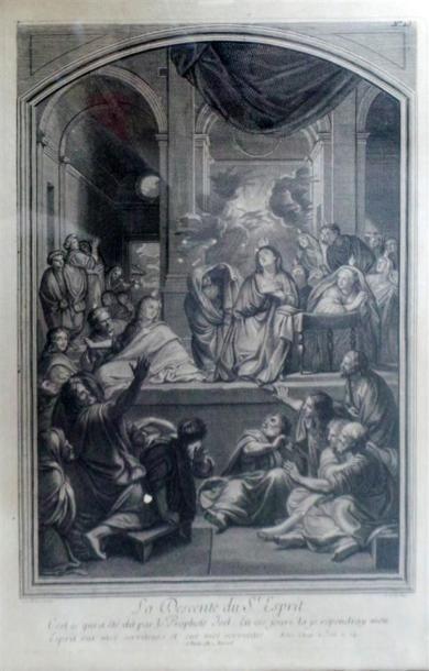 D'APRÈS RUBENS, par JEAURAT La visitation...