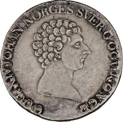 ROYAUME de NORVÈGE : Charles XIV (Bernadotte),...