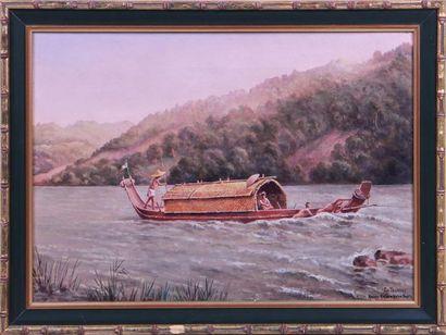 GASPARD DE TOURSKY (?-1925) Les rapides de...