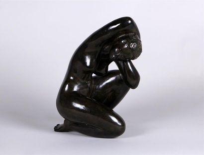 JEAN LANIAU (NÉ EN 1931) Jeune fille nue...