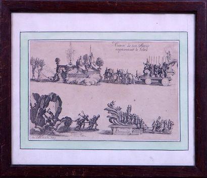 D'APRES JACQUES CALLOT (1592-1635) Entrée...