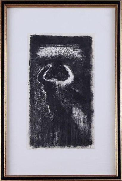 JEAN BRISSON-DUVAL (1931-1999) Le taureau,...