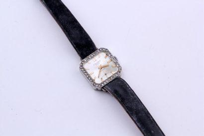 CAUNY - Sylvie MONTRE bracelet de dame carrée...