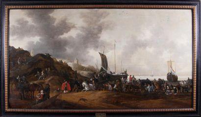 HENDRIK DE MEIJER (c.1600-c.1690) Le débarquement...
