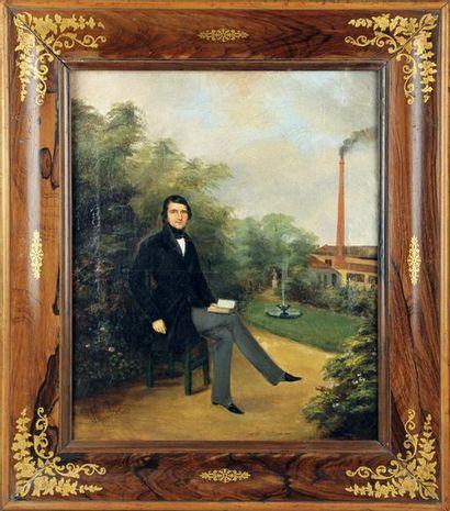CLARA ROYER, XIXe SIÈCLE Portrait présumé...