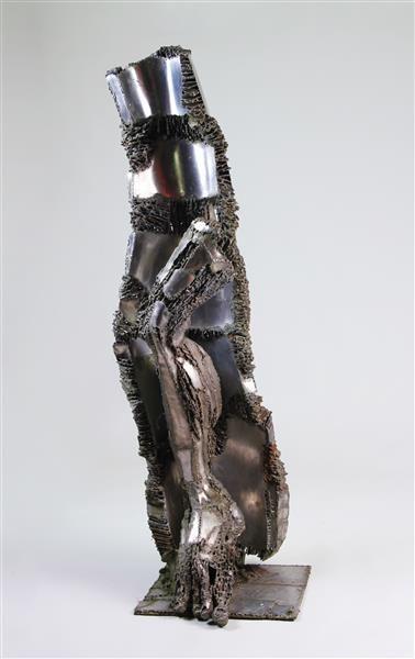 JACQUES VERSARI (1946-2004) L'athlète Sculpture...