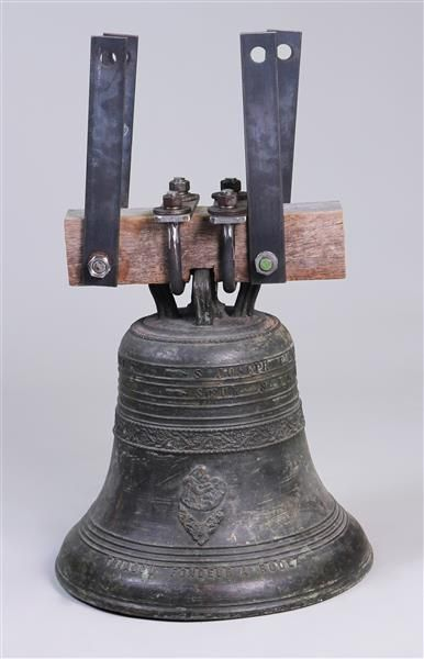 CLOCHE en bronze, marquée «St Joseph Prn...