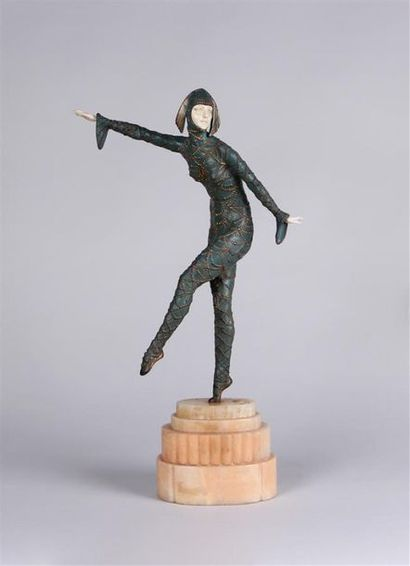 DEMESTER H. CHIPARUS (1886-1947) La danseuse...