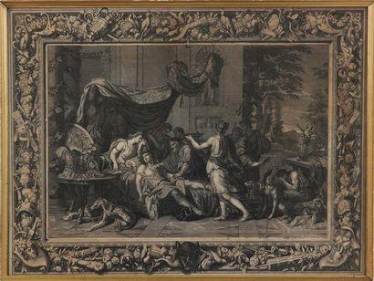 D'APRÈS CHARLES LE BRUN (1619-1690) Scènes...
