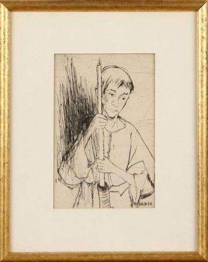 JEAN JANSEM (1920-2013) Enfant de choeur...