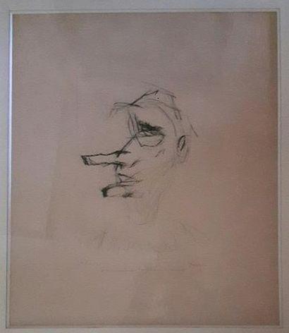 ARMAND HENRI NAKACHE (1894-1976) Le pitre...