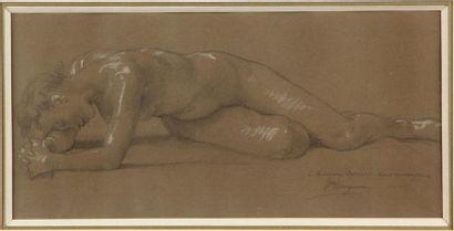 WILLIAM ADOLPHE BOUGUEREAU (1825-1905) Femme...