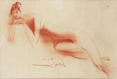 JEAN THEOBALD JACUS (1924) Nus féminins Deux...