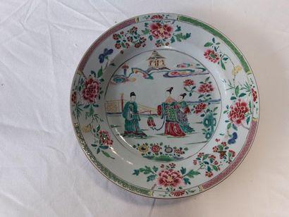 CHINE, époque YONGZHENG (1723-1735), Plat...