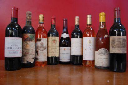VINS Bordeaux et Bourgogne  1 Bouteille...