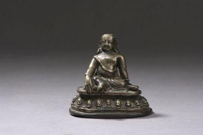TIBET central - XVIe siècle Petite statuette...