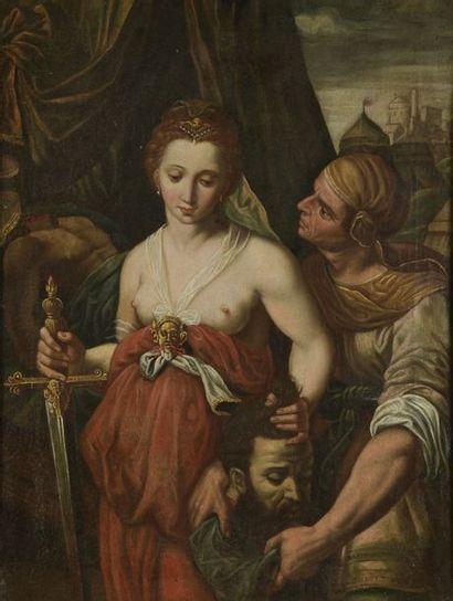 École LOMBARDE du XVIIe siècle Judith et...