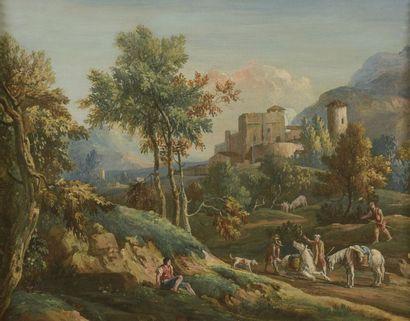 École ITALIENNE du XVIIIe siècle, suiveur...