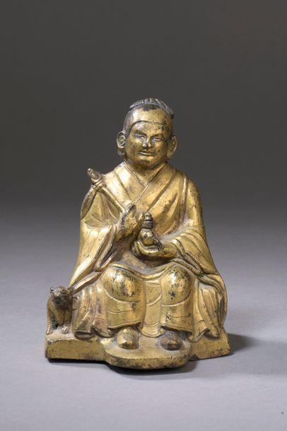 TIBET - XVIIe/XVIIIe siècle Statuette de...
