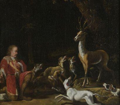 Attribué à Abraham HONDIUS (vers 1625 - 1695)...